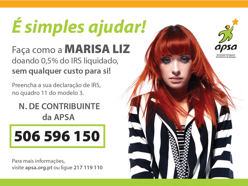Marisa Liz apoia a APSA