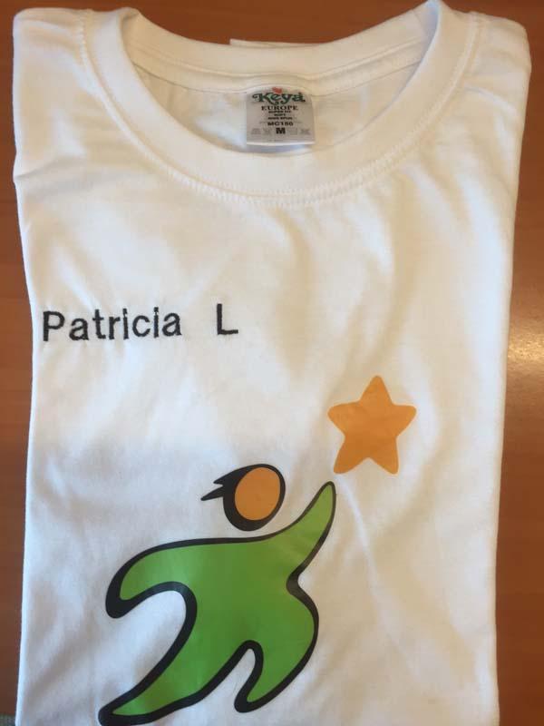 T-Shirt APSA bordada